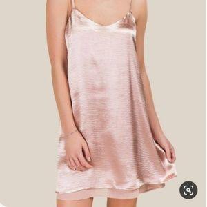 Satin Francesca's dress